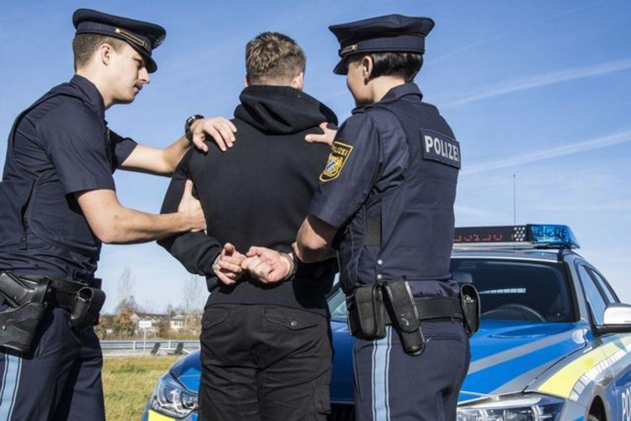 Polizei, Festnahme, © Bayerische Polizei