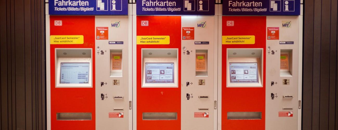 DB Fahrkartenautomat, © MVV GmbH