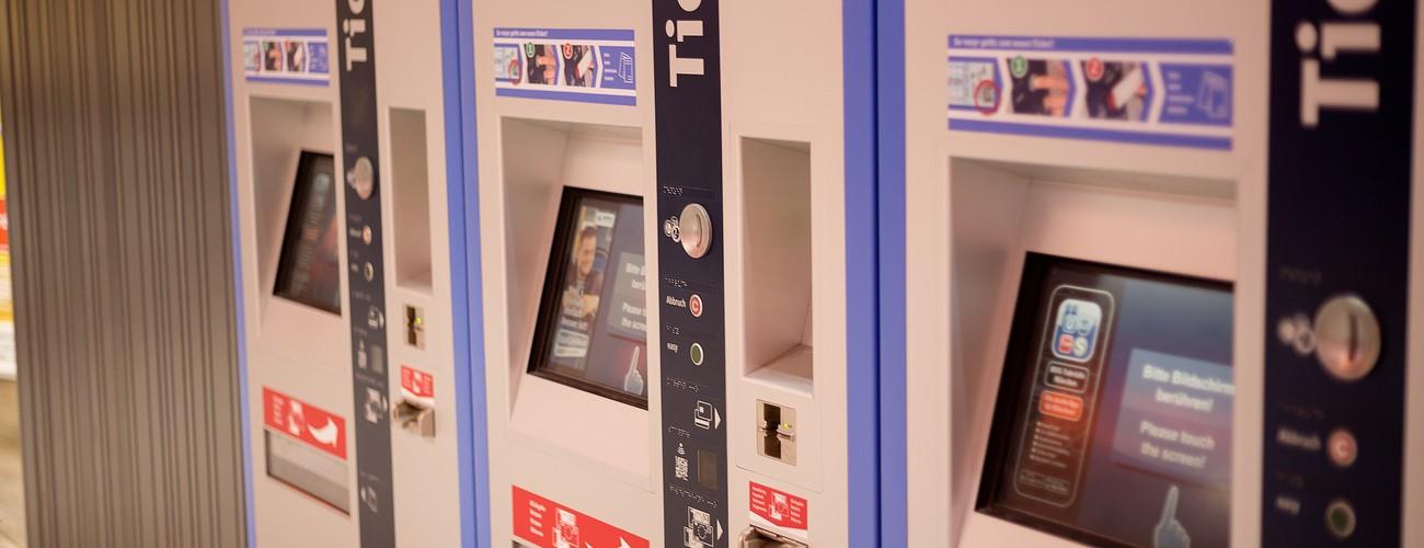 Fahrkartenautomat, © MVV GmbH